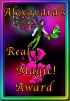 Alexandra's Magical Award