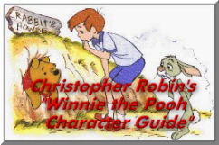 Christopher Robin's Winnie the Pooh Character Guide