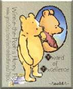 Winnie-the-Pooh's Hunny Pot Award of Excellence