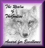 Realm of TheGodess Excellence Award