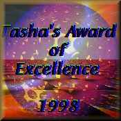 Tasha's Award of Excellence