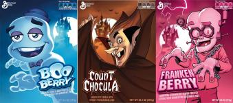 2014 General Mills Monster Cereals