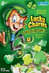 General Mills Lucky Charms - Limited Edition with Green Clovers