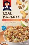 Quaker Real Medleys - Peach Apple Walnut Multigrain Cereal