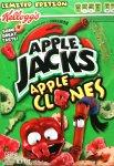 Kellogg's Apple Jacks Apple Clones