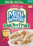 Kellogg's Frosted Mini Wheats - Touch of Fruit in the Middle - Raspberry