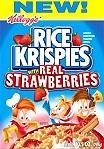 Rice Krispies with Strawberries