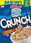 Kellogg's Frosted Mini Wheats CRUNCH - Brown Sugar