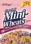 Kelloggs Strawberry Mini Wheats