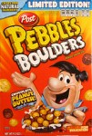 Post Pebbles Boulders Chocolate Peanut Butter