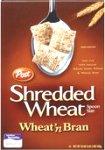 Post Shredded Wheat - Spoon Size Wheat'n Bran