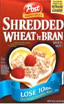 Post Shredded Wheat'n Bran Spoonsize