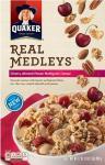 Quaker Real Medleys - Cherry Almond Pecan Multigrain Cereal