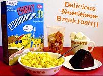 Cheat Commandos Breakfast