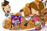 Raisin Bran Boy and Girl