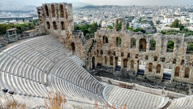 Athens Herodion Ancient Theatre