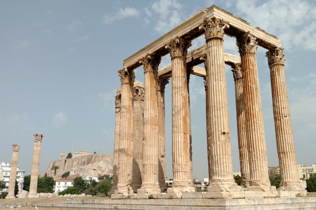 Athens Temple of the Olympian Zeus
