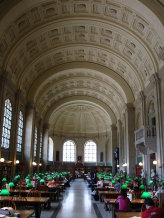 Boston Library Bates Hall