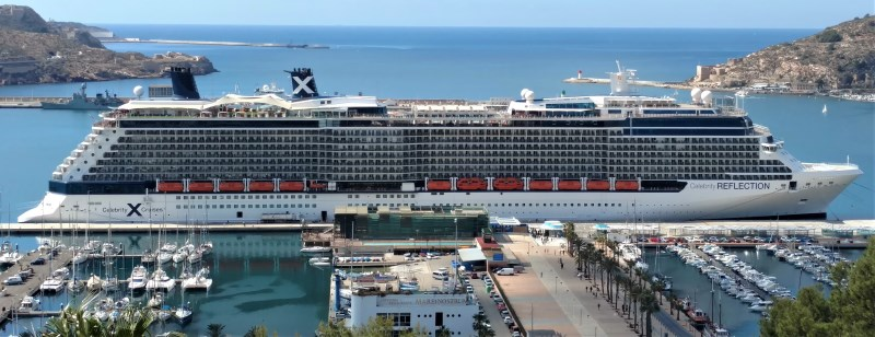Celebrity Reflection in Cartagena