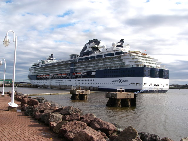Celebrity Constellation docked in Charlottetown, PEI, Canada