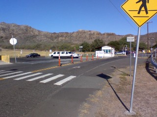 Diamond Head Park Turn-Around