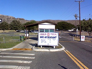 Diamond Head Park Toll Booth