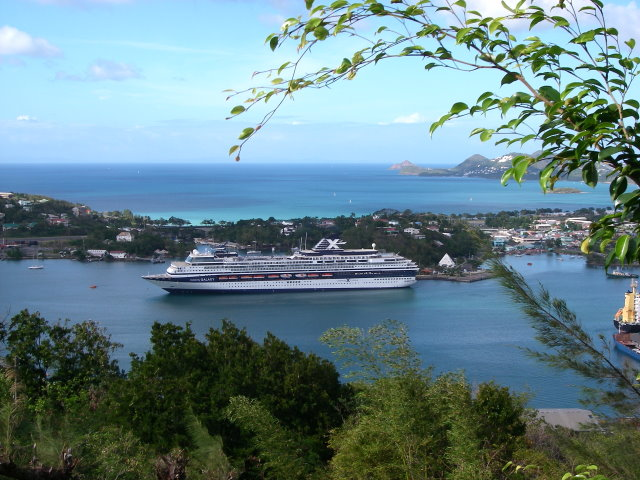 Celebrity Galaxy in St.Lucia