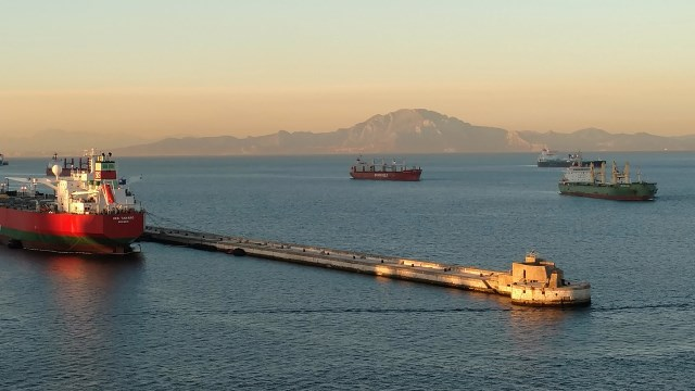 Gibraltar Shipping Lane and Africa
