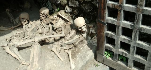 Skeletons in the Herculaneum Docks