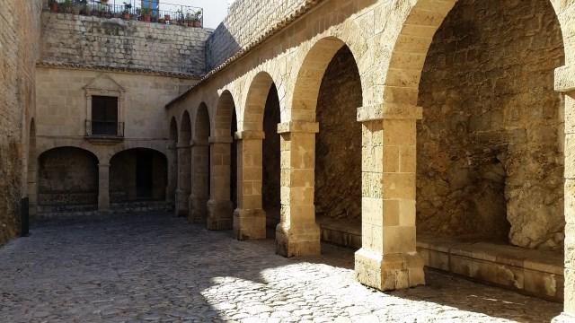 Ibiza Entry Courtyard