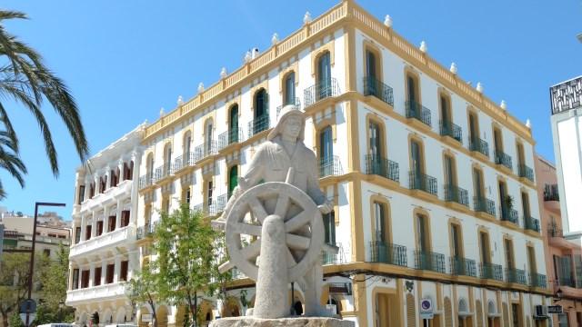 Ibiza Maritime Statue