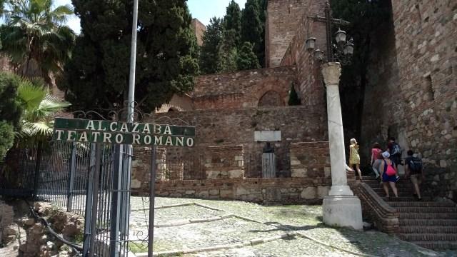 Alcazaba Entrance Malaga