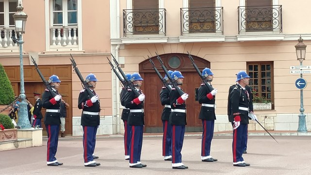 Monaco Changing of the Guards