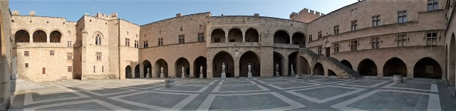 Palace of the Grand Masters Courtyard