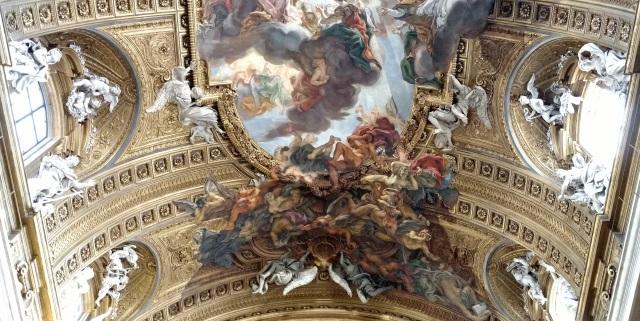 Chiesa de Gesu ceiling