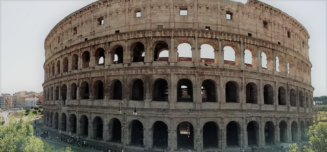 Roman Colosseum Outside