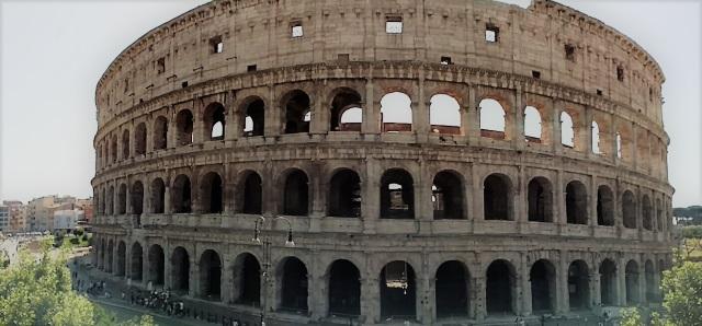 Roman Colosseum Outside