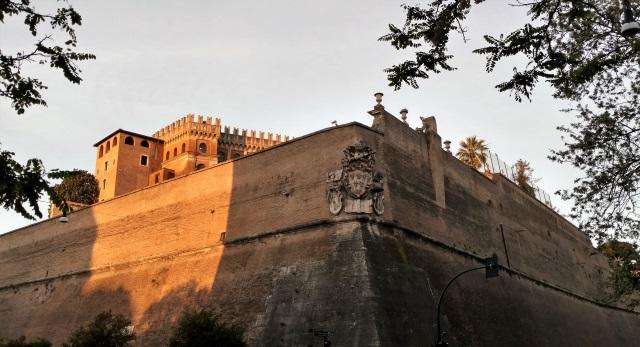 The Vatican Wall