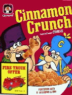John LaFoote's Cinnamon Crunch Toasty Sweet Cereal